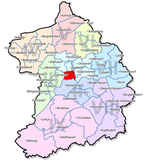 Karte_Pflegehelden_Essen_Betreuungsgebiet